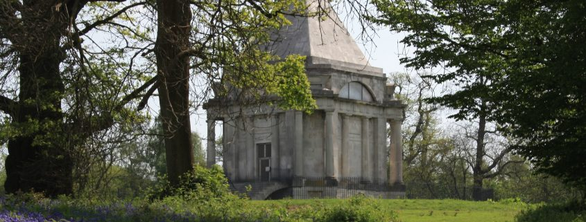 Cobham Mausoleum & Bluebells