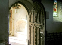 Higham Church Medieval Door
