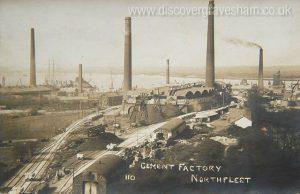 Northfleet cement works