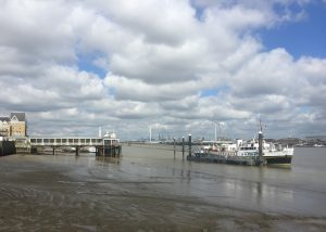 MV Balmoral at Gravesend Pontoon - David Bassett