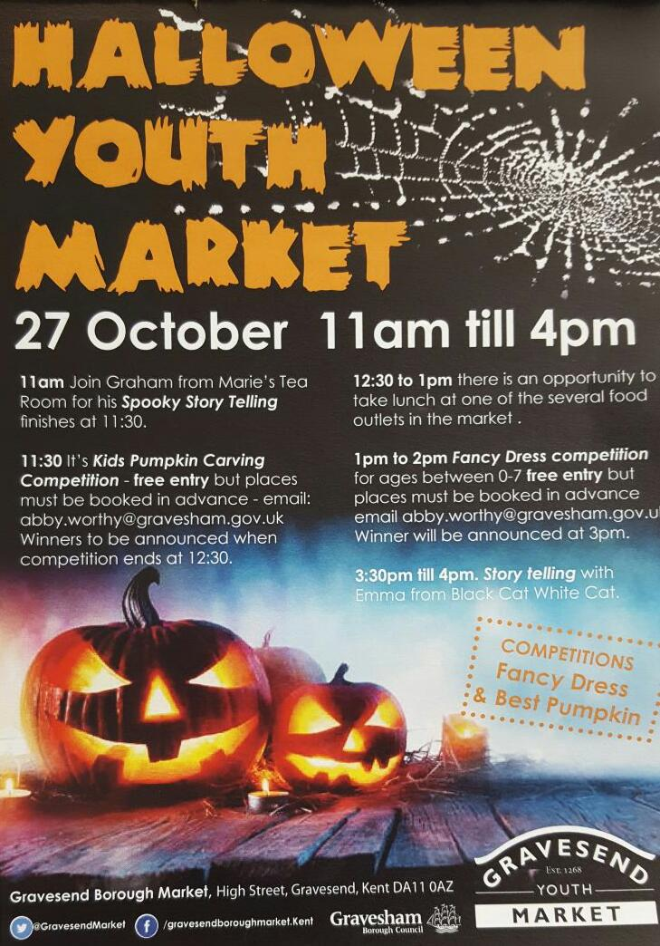 Halloween Youth Market - Visit Gravesend