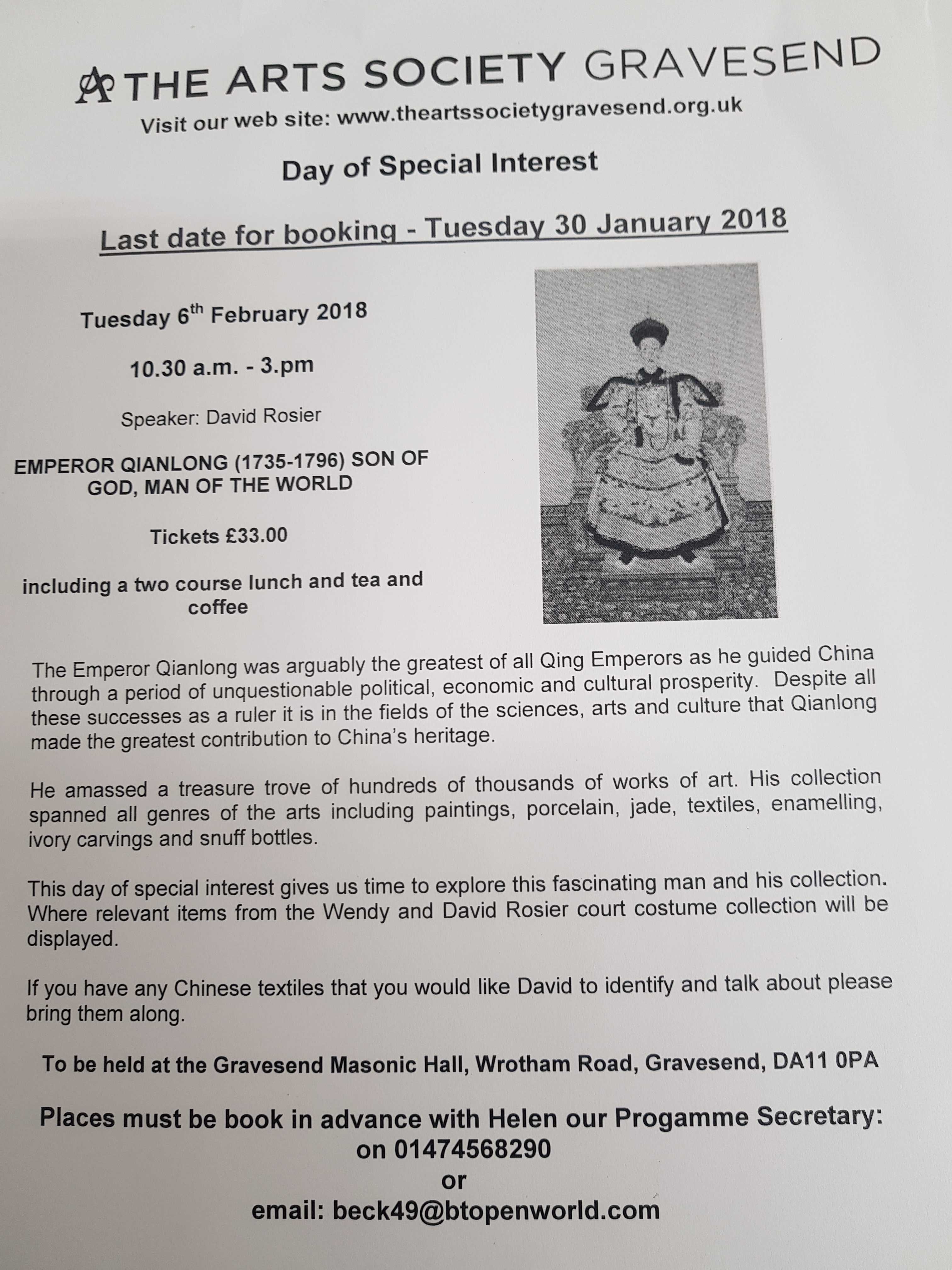 Day of Special Interest - Visit Gravesend